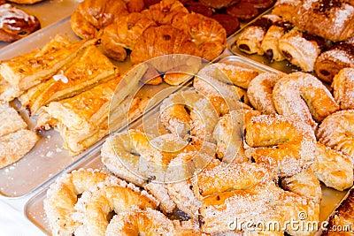 Mediterranean bakery wseet pastries