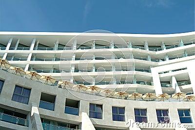 Mediterranean building spa hotel