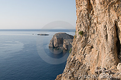 Mediterranean coast view