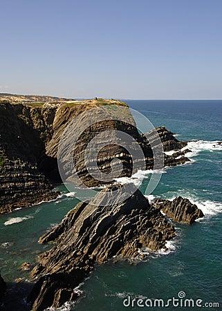Mediterranean coastline  south of Portugal