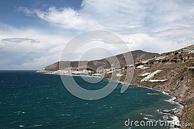 Mediterranean coastline, Spain