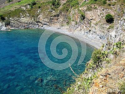 Mediterranean cove in Vermilion coast