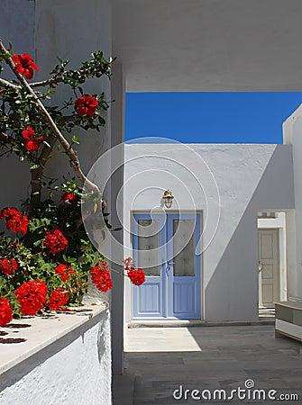 Mediterranean doorway