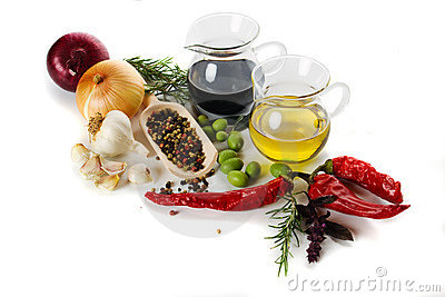 Mediterranean food ingredients