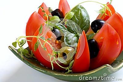 Mediterranean fresh salad