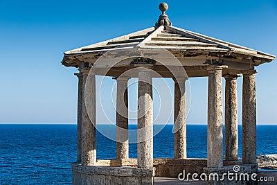 Mediterranean gazebo