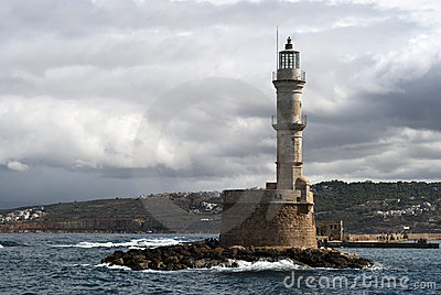 Mediterranean lighthouse