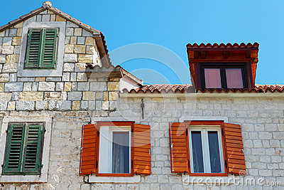 Mediterranean old house