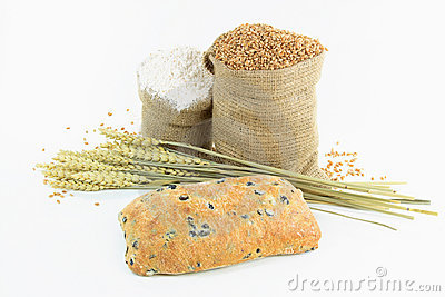 Mediterranean olive bread and products.