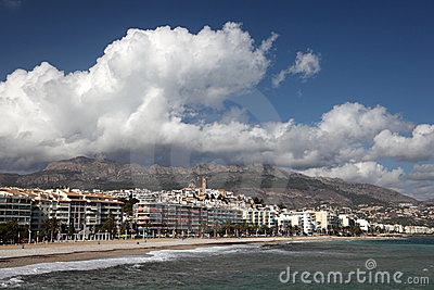 Mediterranean resort Altea, Spain