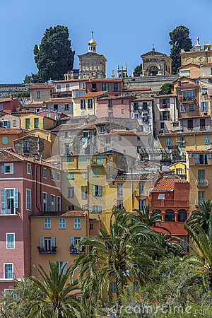 Mediterranean resort of Menton - French Riviera