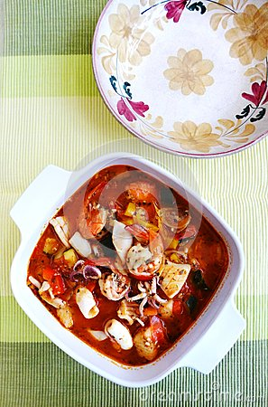 Fragrant Fish Stew Recipe — Dishmaps
