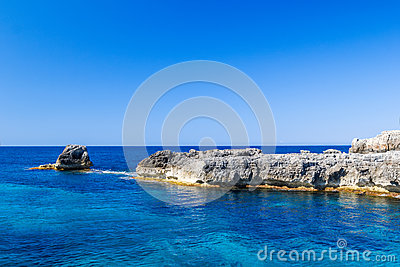 Mediterranean sea scenery