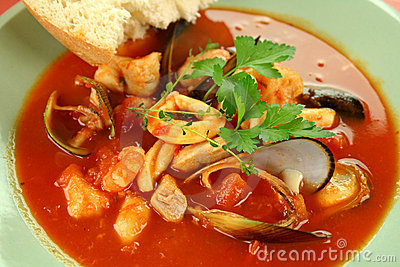 Mediterranean Seafood Soup