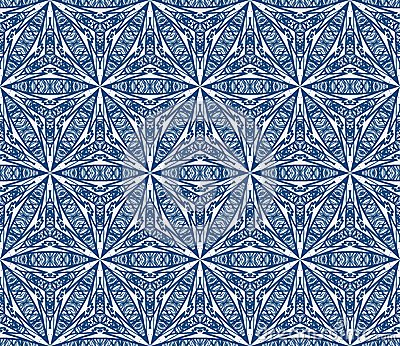 Mediterranean seamless vector pattern