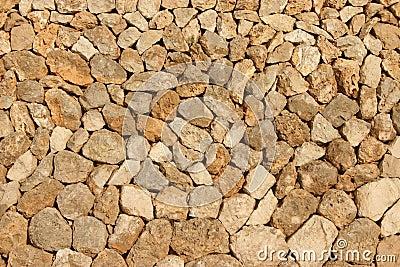 Mediterranean stone wall
