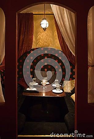 Mediterranean style restaurant