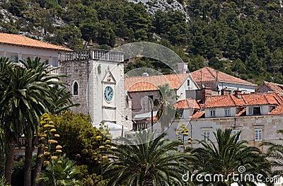 Mediterranean town Hvar
