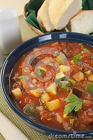 Mediterranean Vegetable Soup Ratatouille