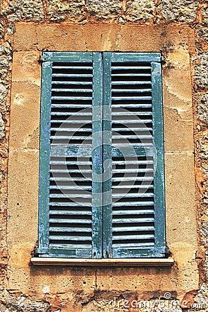 Rustic mediterranean shutters stock photo image 56482410 for European shutters