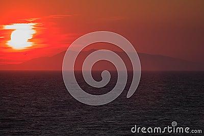 Mediterrean sunset