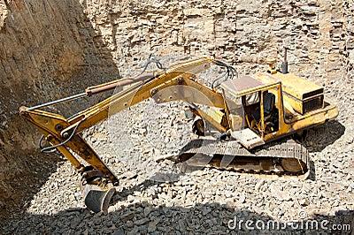 Medium sized excavator
