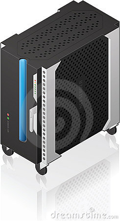Medium Tower Size Server Rack