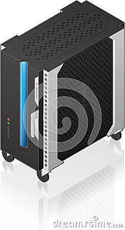 Medium Tower Size Server Rack