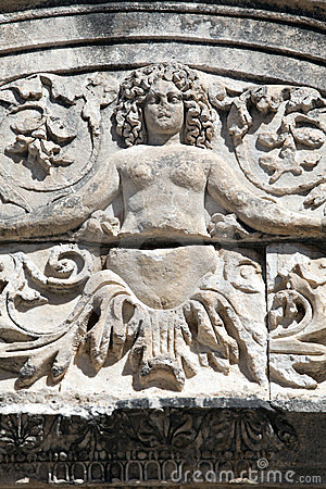 Medusa Detail of Hadrian s Temple, Ephesus
