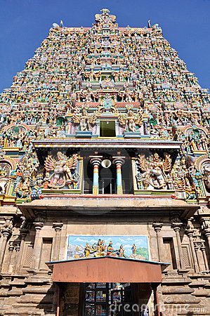 The Meenakshi Temple, Madurai