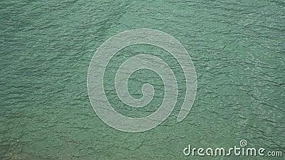 Meeresoberfläche Kalmare See Ruhe auf See stock video