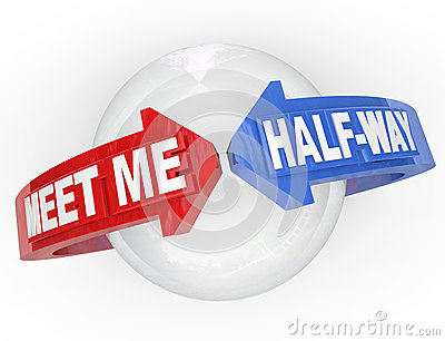 Meet Me Half-Way Arrows Compromise Settlement