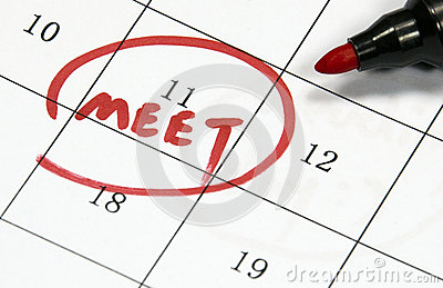 Meet sign