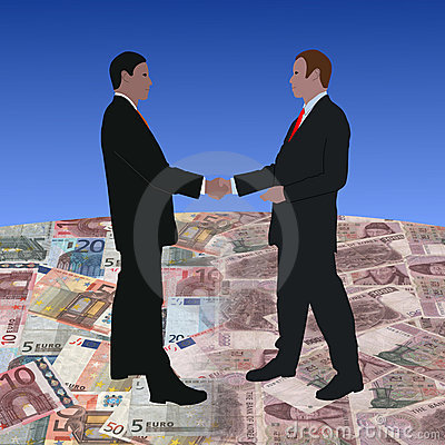 Meeting on euros and Won
