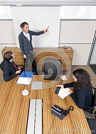 Meeting room presentation