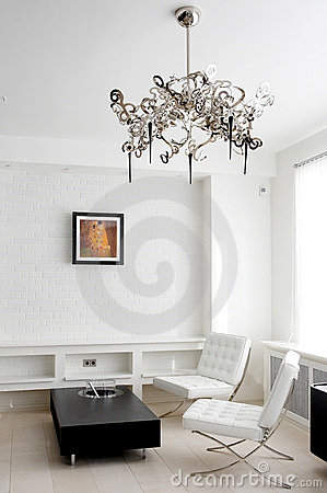 Free Meeting Room With Leather Furniture Royalty Free Stock Images - 12784529