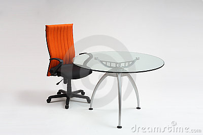 Meeting table & chair