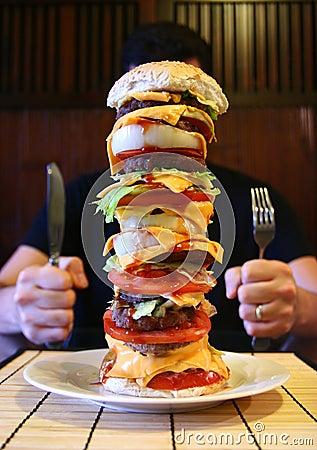 Mega Beefburger