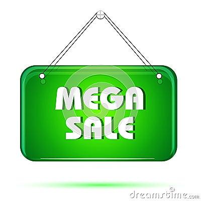 Mega sale tag