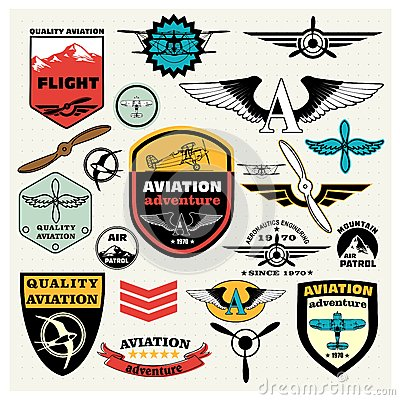 Free Mega Set Of The Theme Aviation Stock Images - 51060434
