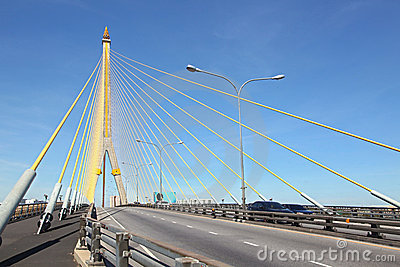 Mega sling Bridge,Rama 8