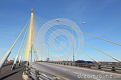 Mega sling Bridge,Rama 8