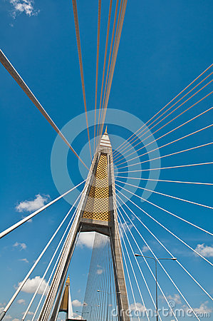 Mega sling Bridge, Thailand