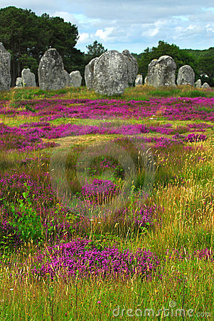 Free Megalithic Monuments In Brittany Stock Photography - 3868262