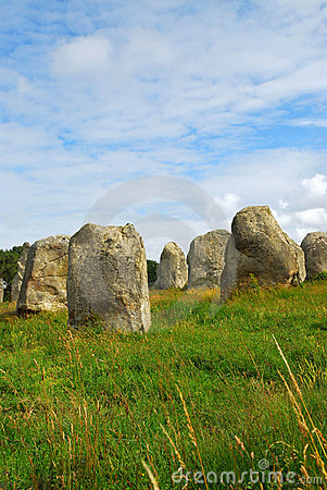 Free Megalithic Monuments In Brittany Royalty Free Stock Image - 4302616