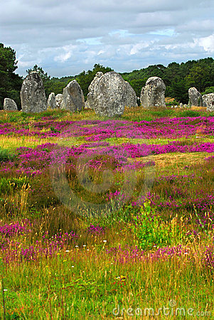 Free Megalithic Monuments In Brittany Royalty Free Stock Images - 4980409