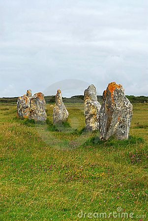 Free Megalithic Monuments In Brittany Stock Photography - 5649342