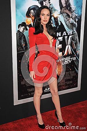 Megan Fox Editorial Photo