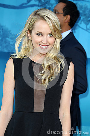 Megan Park arrives at the  Editorial Photography