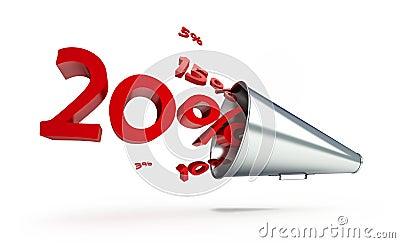Megaphone sale promotion